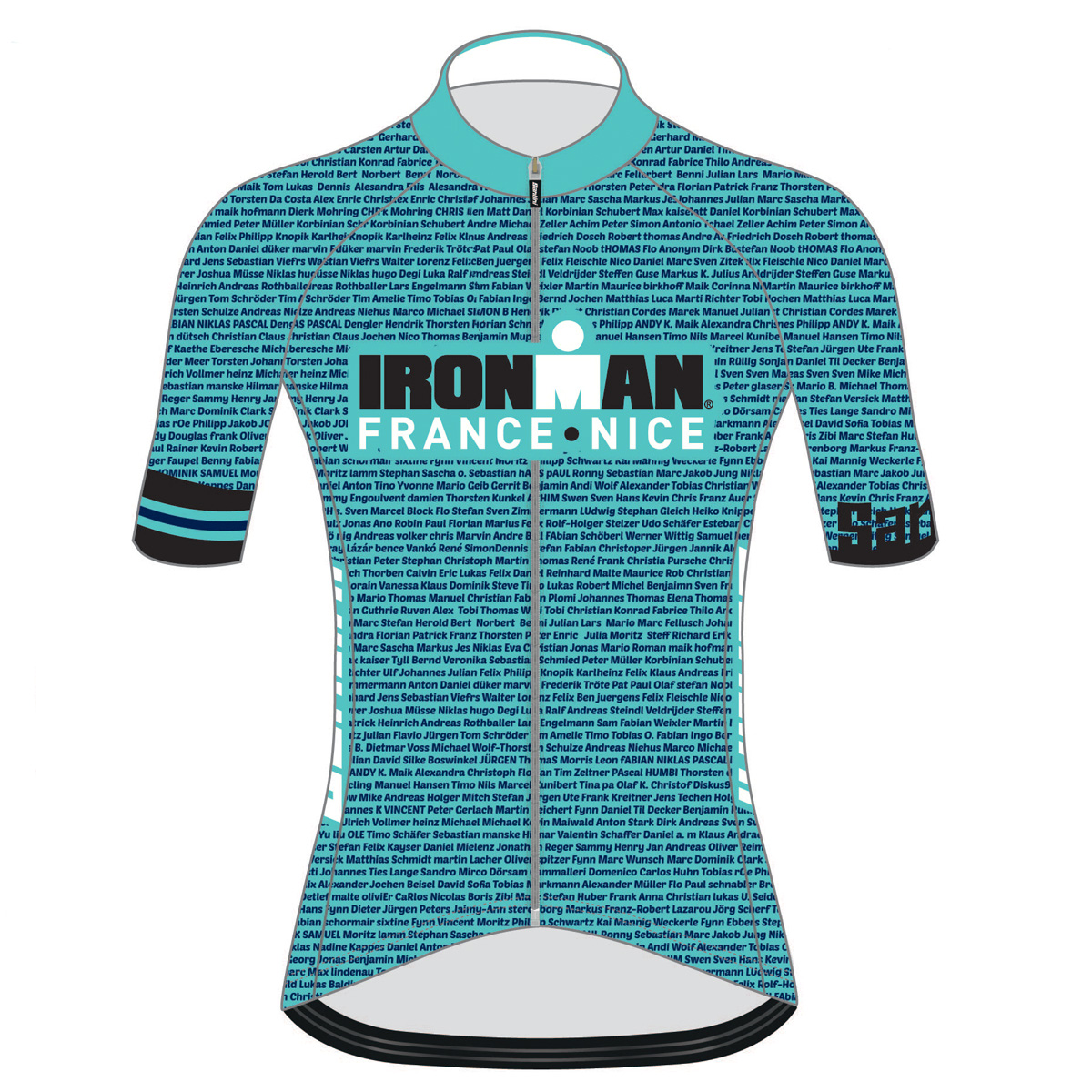IRONMAN FRANCE 2019 WOMEN'S NAME CYCLE JERSEY