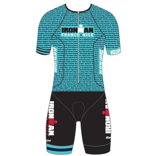 IRONMAN FRANCE 2019 WOMEN'S NAME TRI SUIT