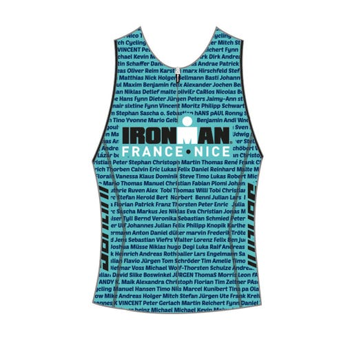 IRONMAN FRANCE 2019 WOMEN'S NAME TRI TOP