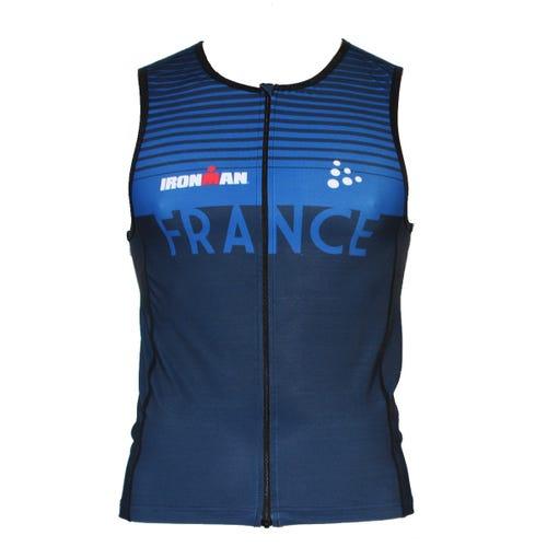 IRONMAN Men's Team France Tri Top