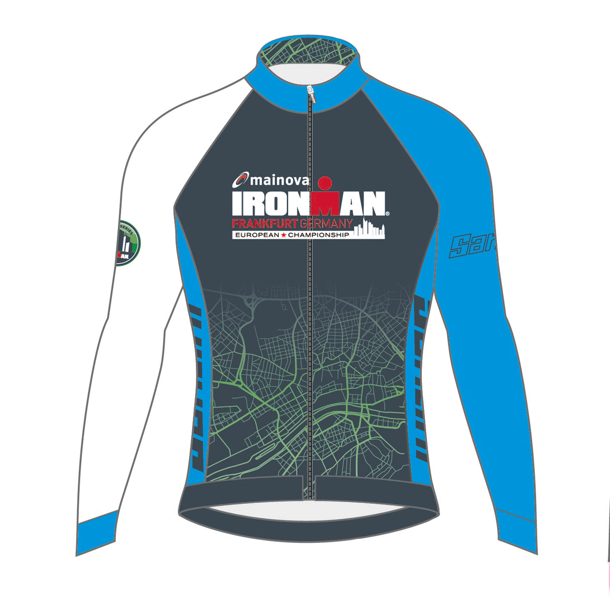 IRONMAN EUROPEAN CHAMPIONSHIP 2019 MEN'S FINISHER COURSE CYCLE JERSEY