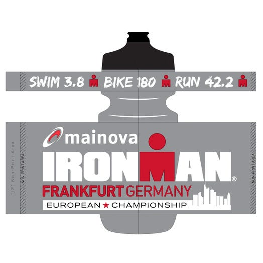 IRONMAN EUROPEAN CHAMPIONSHIP WATER BOTTLE COLOR