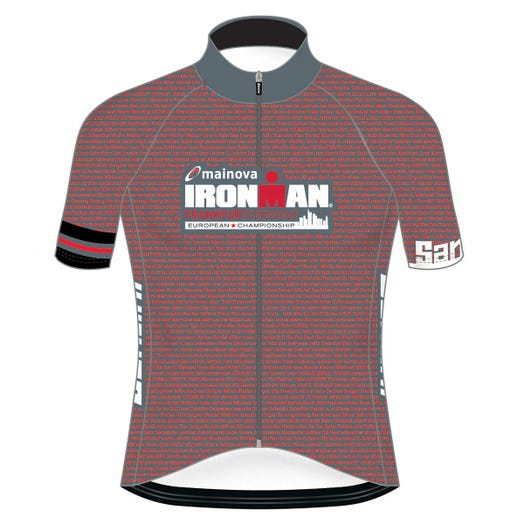 IRONMAN EUROPEAN CHAMPIONSHIP 2019 MEN'S NAME CYCLE JERSEY