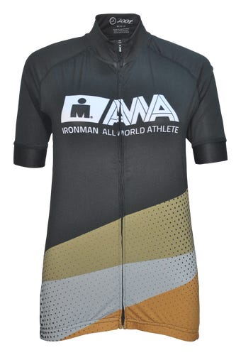 IRONMAN Men's All World Athlete Cycle Top - Black