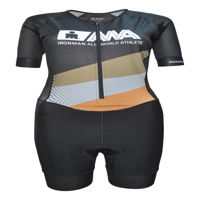 IRONMAN Men's All World Athlete Tri Racesuit - Black