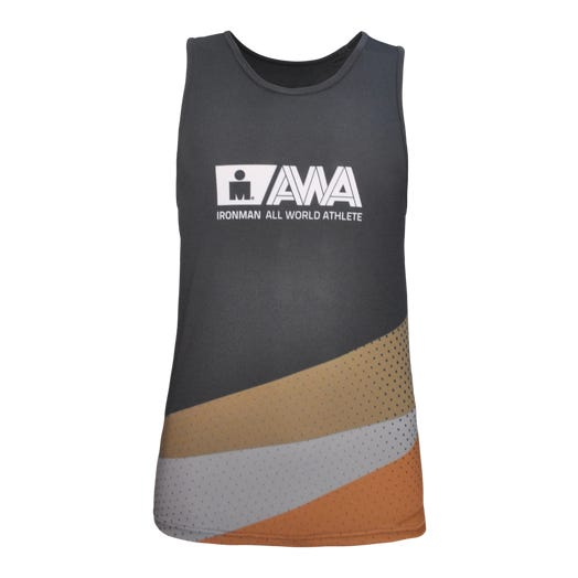 IRONMAN Men's All World Athlete Singlet - Black