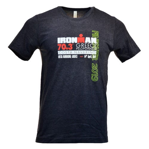 IRONMAN 70.3 Greece 2019 Men's Finisher Tee