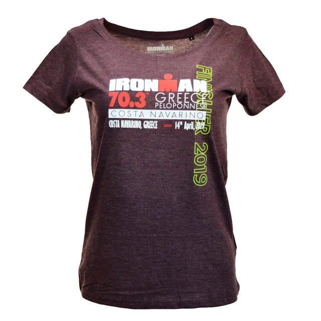 IRONMAN 70.3 Greece 2019 Women's Finisher Tee