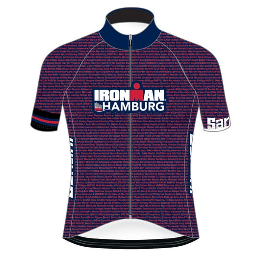 IRONMAN HAMBURG 2019 MEN'S NAME CYCLE JERSEY
