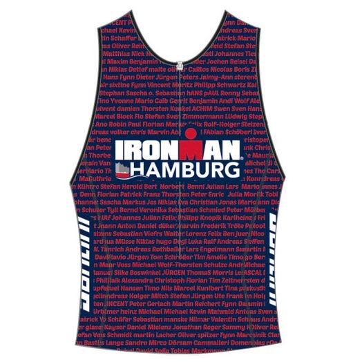 IRONMAN HAMBURG 2019 MEN'S NAME TRI TOP