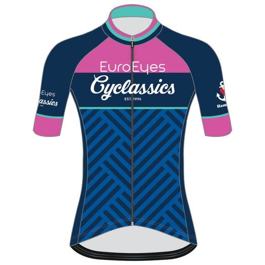 EUROEYES CYCLASSICS HAMBURG 2019 WOMEN'S CYCLE JERSEY