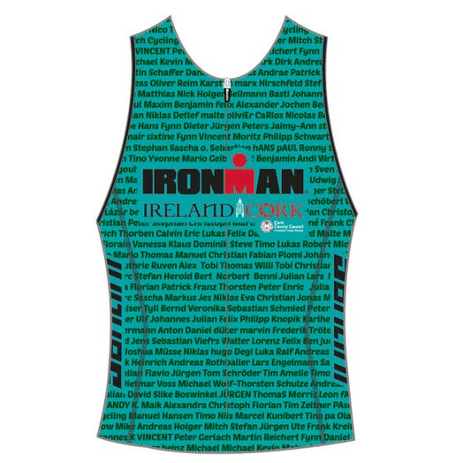 IRONMAN IRELAND 2019 WOMEN'S NAME TRI TOP