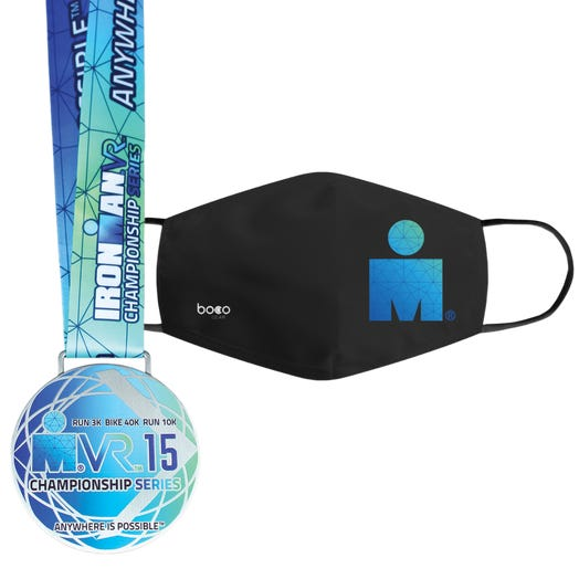 IRONMAN VR15 CHAMPIONSHIP SERIES FINISHER MEDAL