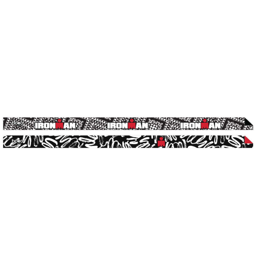 IRONMAN Non-Slip 2pk Headband - Black/White