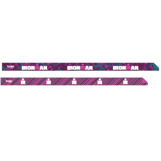 IRONMAN Non-Slip 2pk Headband - Tropical Pink