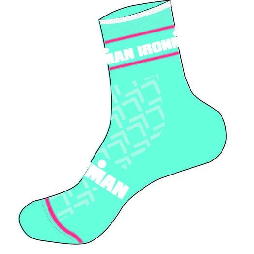 IRONMAN RPM Cycle Sock - Aqua