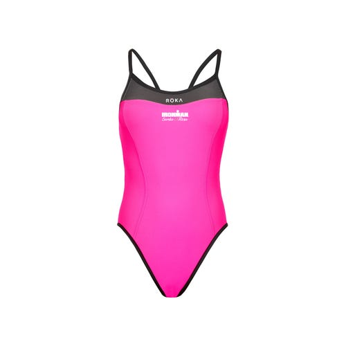 12cdb4668a IRONMAN Santa Rosa Women's Elite One-Piece Triangle Back Swimsuit