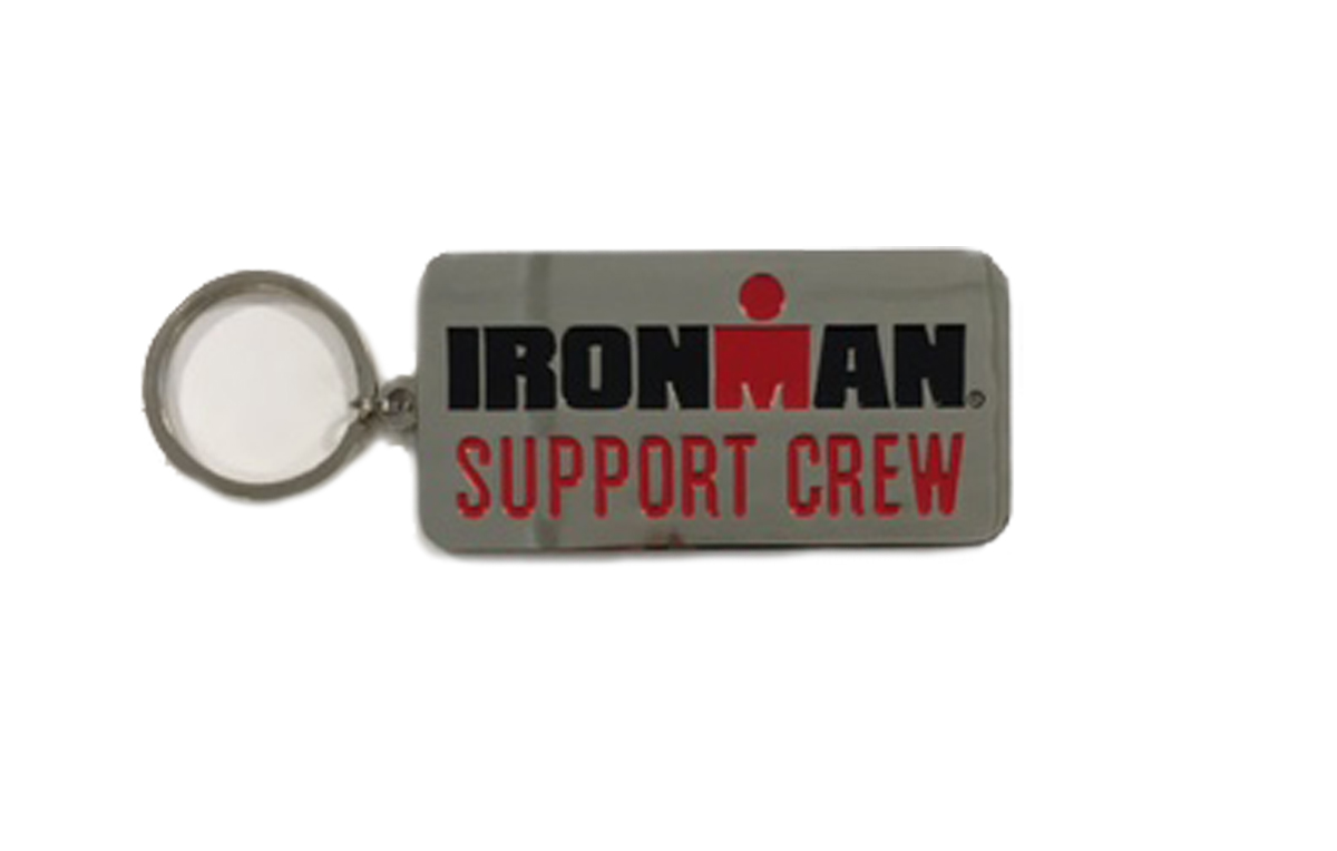 IRONMAN Support Crew Keychain