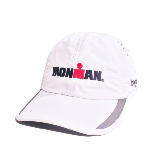 IRONMAN Elite Tech Hat - White
