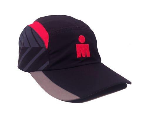 IRONMAN Tech Hat - Black/Red
