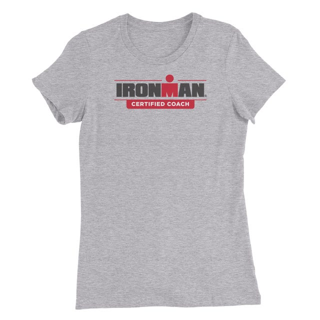 IRONMAN Certified Coach Women's Grey Tee