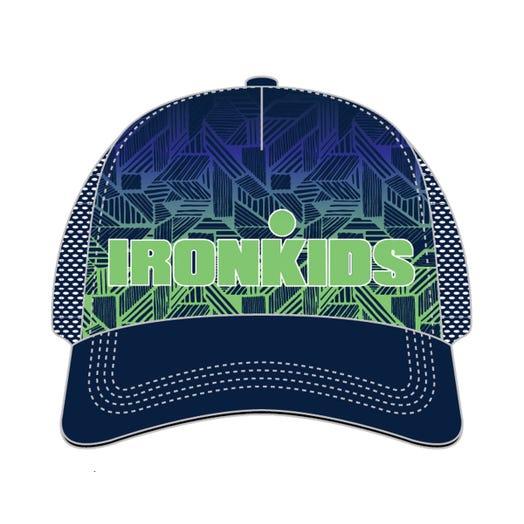 IRONKIDS Hatch Tech Trucker- Blue Lime