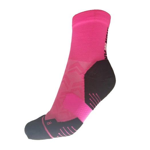 IRONMAN Cycle Sock - Pink