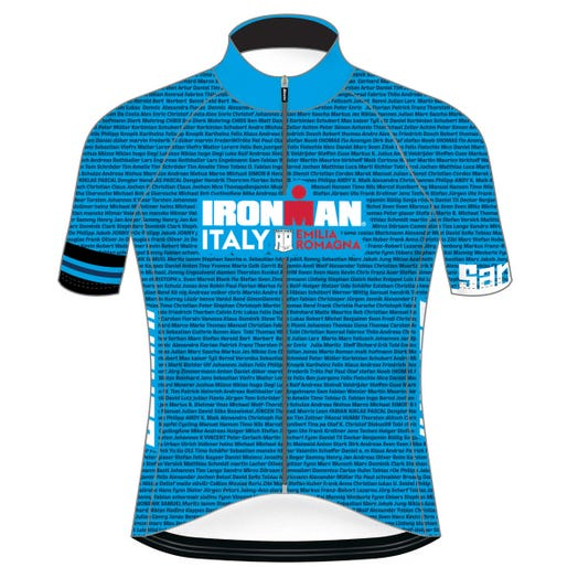 IRONMAN ITALY EMILIA-ROMAGNA 2019 MEN'S NAME CYCLE JERSEY