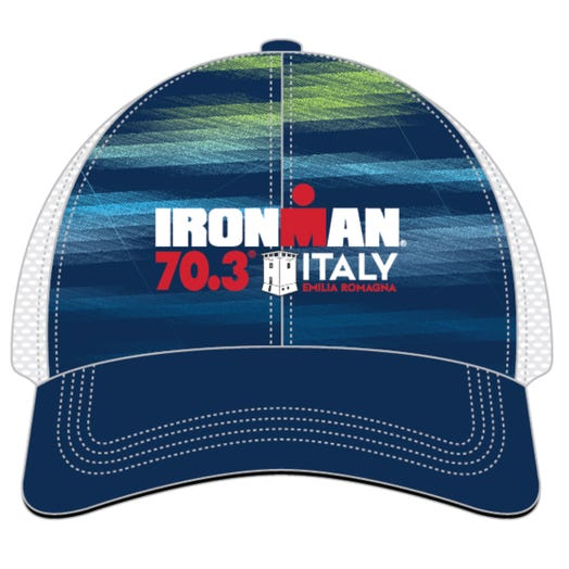 IRONMAN 70.3 ITALY EMILIA-ROMAGNA EVENT TRUCKER HAT