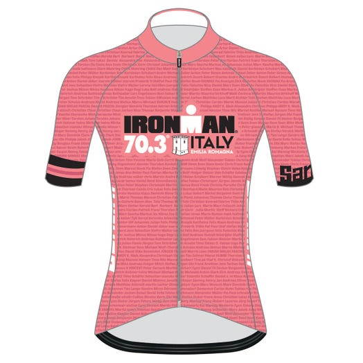 IRONMAN 70.3 ITALY EMILIA-ROMAGNA 2019 WOMEN'S NAME CYCLE JERSEY