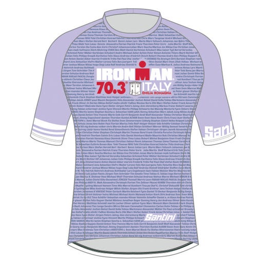 IRONMAN 70.3 ITALY EMILIA-ROMAGNA 2019 WOMEN'S PERFORMANCE NAME TEE