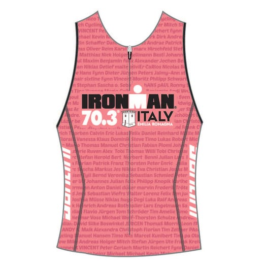 IRONMAN 70.3 ITALY EMILIA-ROMAGNA 2019 WOMEN'S NAME TRI TOP