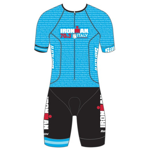 IRONMAN 70.3 ITALY EMILIA-ROMAGNA 2019 MEN'S NAME TRI SUIT