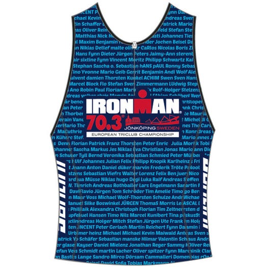 IRONMAN 70.3 JONKOPING 2019 MEN'S NAME TRI TOP