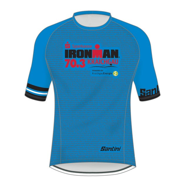 IRONMAN 70.3 KRAICHGAU MEN'S NAME PERFORMANCE TEE