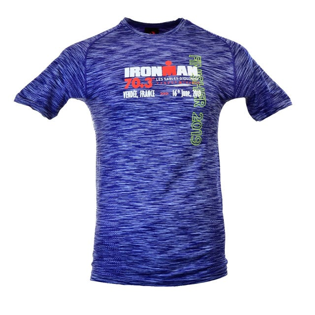 IRONMAN 70.3 LES SABLES D'OLONNE MEN'S FINISHER SEAMLESS TEE