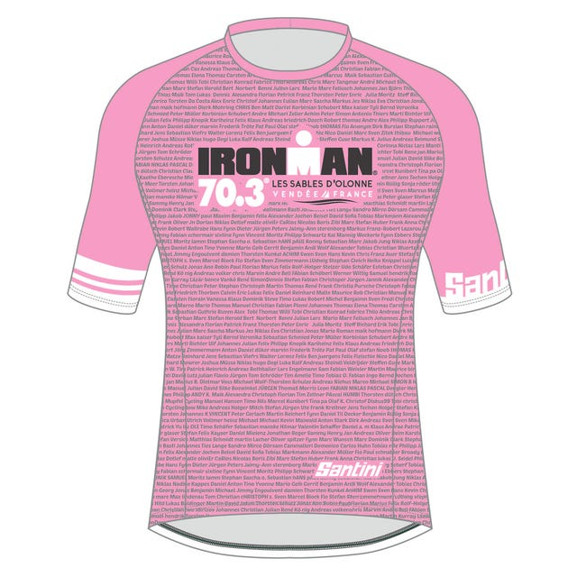 IRONMAN 70.3 LES SABLES D'OLONNE 2019 WOMEN'S NAME PERFORMANCE TEE
