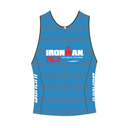IRONMAN 70.3 LES SABLES D'OLONNE 2019 MEN'S NAME TRI TOP