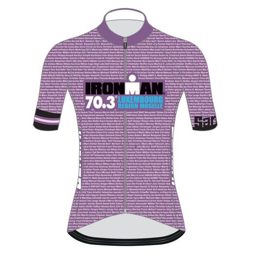 IRONMAN 70.3 LUXEMBOURG 2019 WOMEN'S NAME CYCLE JERSEY