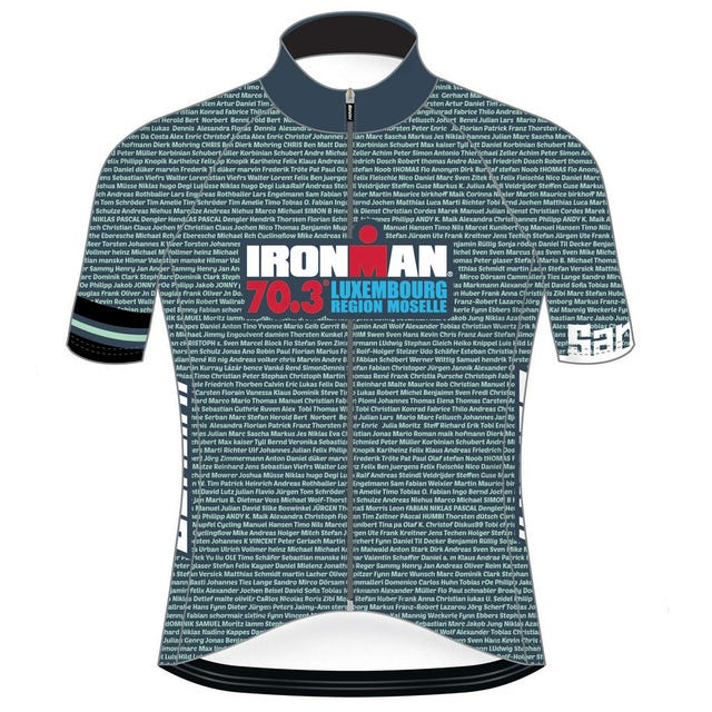 IRONMAN 70.3 LUXEMBOURG 2019 MEN'S NAME CYCLE JERSEY
