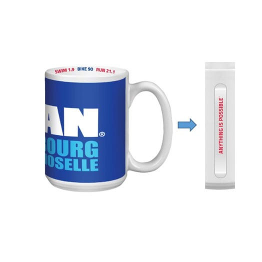 IRONMAN 70.3 Luxembourg 2019 Event Coffee Mug