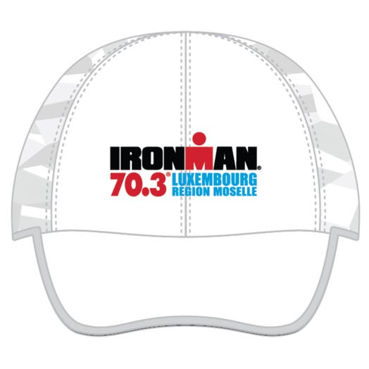 IRONMAN 70.3 LUXEMBOURG EVENT TECH HAT - WHITE