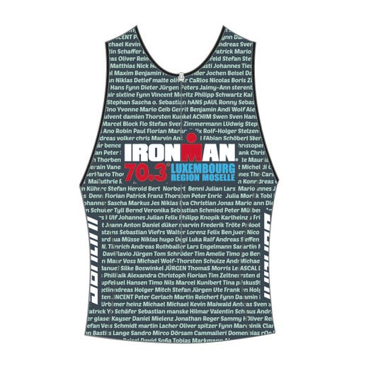 IRONMAN 70.3 LUXEMBOURG 2019 MEN'S NAME TRI TOP