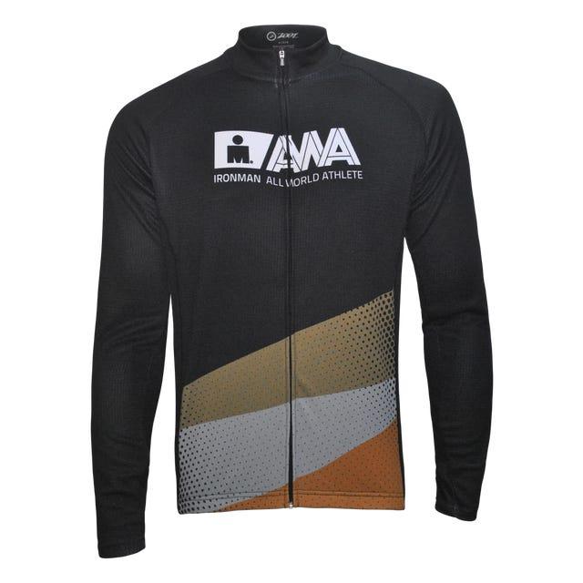 IRONMAN Men's All World Athlete Cycle Long Sleeve - Black