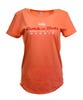 ROCK N ROLL MARATHON SERIES MADRID 2019 WOMEN'S MAP TEE - ORANGE