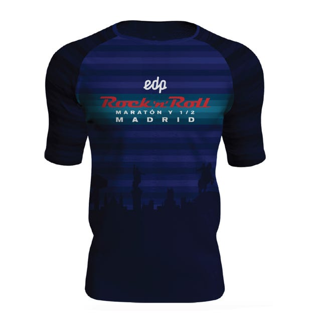 ROCK N ROLL MARATHON SERIES MADRID 2019 MEN'S RUN TRAIL TEE