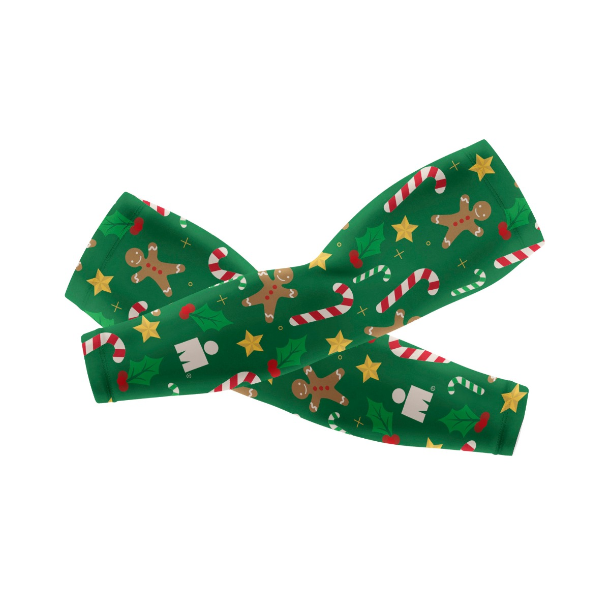 IRONMAN Arm Sleeves - Holiday Sweets Green