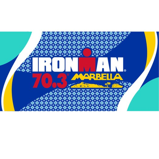 IRONMAN 70.3 Marbella 2019 Event Beach Towel