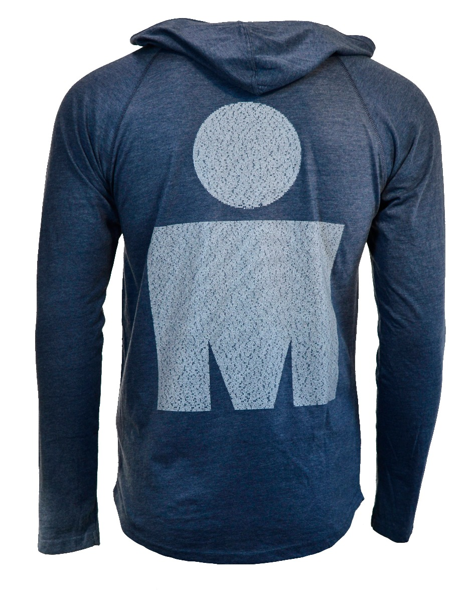 IRONMAN 70.3 Marbella 2019 Men's Long Sleeve Triblend Name Hoodie