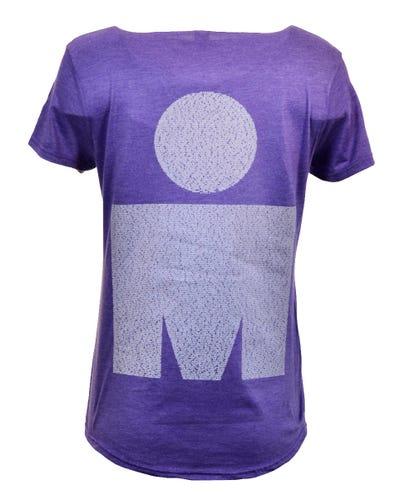 IRONMAN 70.3 Marbella 2019 Women's Name Tee - Purple